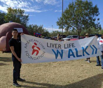 AZ Liver at the Liver Walk in Tucson, AZ