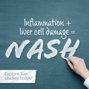 Liver inflammation and liver cell damage equal NASH, clinical research